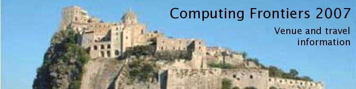 Computing Frontiers: Venue and travel information